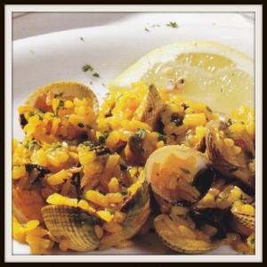 arroz con berberechos